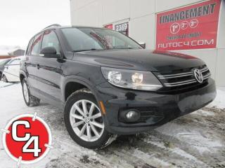 Used 2017 Volkswagen Tiguan AWD CUIR TOIT MAG BLUETOOTH for sale in St-Jérôme, QC