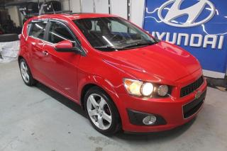Used 2012 Chevrolet Sonic Hayon 5 portes LT for sale in St-Constant, QC
