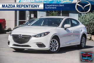 Used 2016 Mazda MAZDA3 BERLINE GS AUTO SIÈGES CHAUFFANTS 58.40$ for sale in Repentigny, QC
