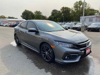 Used 2020 Honda Civic Hatchback Sport Touring 4dr FWD Hatchback for sale in Brantford, ON