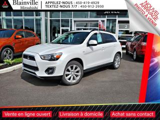 Used 2015 Mitsubishi RVR LIMTIED 4X4 DEL + 18 PO + DÉMARREUR TELEPHONE + 2. for sale in Blainville, QC