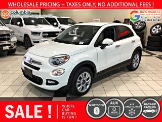 Used 2016 Fiat 500 X Sport 4dr AWD - Accident Free / Local for sale in Richmond, BC