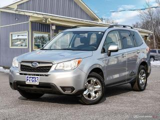 Used 2015 Subaru Forester 2.5i,AWD,R/V CAM,B.TOOTH,X-MODE,HEATED SEATS for sale in Orillia, ON