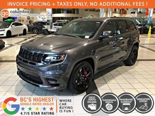 New 2020 Jeep Grand Cherokee SRT 4x4 for sale in Richmond, BC