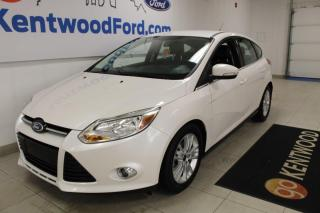Used 2012 Ford Focus 3 MONTH DEFERRAL! *oac | SEL | 5 dr Hatch | Heated Leather | Low KM for sale in Edmonton, AB