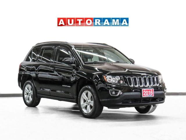 2016 Jeep Compass 4X4 High Altitude Leather Sunroof