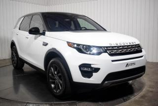 Used 2017 Land Rover Discovery Sport SE AWD CUIR TOIT PANO NAV for sale in St-Hubert, QC