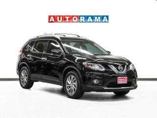 Used 2015 Nissan Rogue SL AWD Nav Leather PanoRoof Backup Cam for sale in Toronto, ON