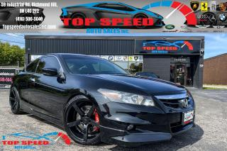 Used 2011 Honda Accord EX-L w / V6 / COUPE / SUNROOF / MANUAL for sale in Richmond Hill, ON