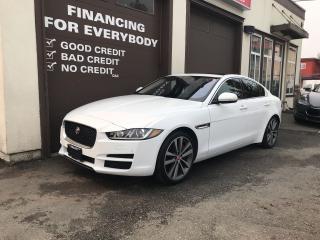 Used 2017 Jaguar XE PRESTIGE for sale in Abbotsford, BC