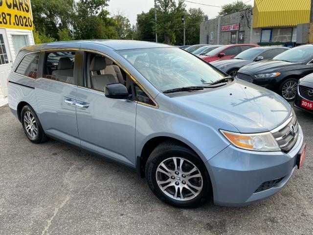 2011 Honda Odyssey EX/ 8 PASS/ DVD/ CAM/ BLUETOOTH/ ALLOYS/ TINTED ++