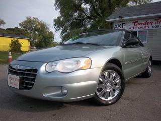 Used 2005 Chrysler Sebring Limited  for sale in Oshawa, ON