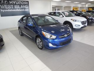 Used 2016 Hyundai Accent SE AUTO MAGS TOIT A/C CRUISE BT for sale in Dorval, QC