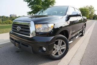 Used 2007 Toyota Tundra LIMITED CREWMAX / 1 OWNER / NO ACCIDENTS / NAVI for sale in Etobicoke, ON