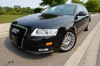 Used 2009 Audi A6 1 OWNER / NO ACCIDENTS / SUPER LOW KM'S / PRISTINE for sale in Etobicoke, ON