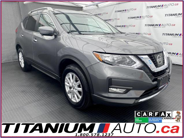 2017 Nissan Rogue SV-Tech+FEB+AWD+GPS+360 Camera+Pano Roof+Blind Spo