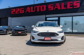 Used 2019 Ford Fusion Hybrid SEL|ACCIDENT FREE|NAV|LEATHER|HYBRID for sale in Brampton, ON
