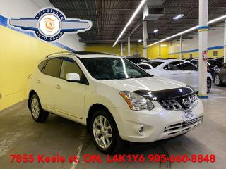 Used 2013 Nissan Rogue SL AWD Navi, Sunroof, 360 Cam for sale in Vaughan, ON