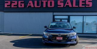 Used 2018 Honda Accord EX-L|ACCIDENT FREE|LEATHER|SUNROOF|HEATED SEATS for sale in Brampton, ON