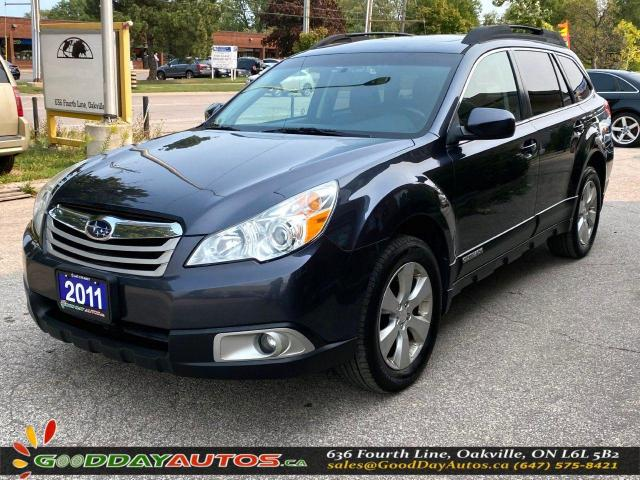 2011 Subaru Outback 2.5i Limited|NO ACCIDENT|SUNROOF|AWD|BT|CERTIFIED