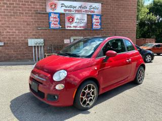 Used 2013 Fiat 500 Sport/ONE OWNER/NO ACCIDENT/SAFETY+WARRANTY INCL for sale in Cambridge, ON