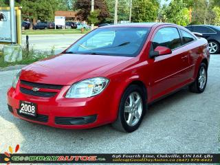 Used 2008 Chevrolet Cobalt LT w/1SA LOW KM NO ACCIDENT SUNROOF CERTIFIED for sale in Oakville, ON