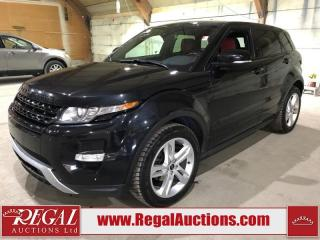 Used 2012 Land Rover Evoque 5D UTILITY 4WD for sale in Calgary, AB