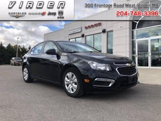 Used 2015 Chevrolet Cruze 1LT for sale in Virden, MB