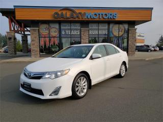Used 2014 Toyota Camry XLE - Leather Interior, Navigation, Satellite Radio for sale in Courtenay, BC