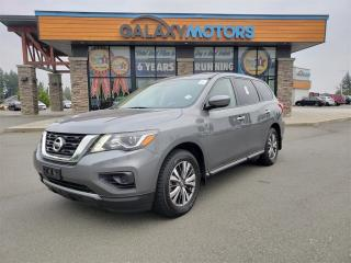 Used 2019 Nissan Pathfinder S - 7 Passenger, 4WD, Back-Up Camera, Apple Car Play for sale in Courtenay, BC