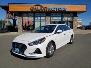 Used 2018 Hyundai Sonata Hybrid GL - Heated Front Seats, Back-Up Camera, Apple Car Play for sale in Courtenay, BC