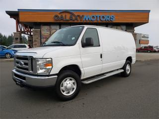 Used 2014 Ford Econoline Cargo Van COMMERCIAL - Full Power Package, Flex Fuel for sale in Courtenay, BC