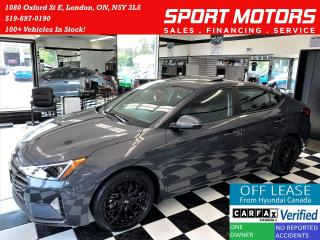 Used 2019 Hyundai Elantra Preferred W/Sun & Safety PKG+Sunroof+ACCIDENT FREE for sale in London, ON