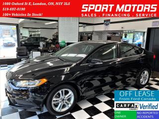Used 2018 Ford Fusion SE TECH+Blind Spot+Lane Keep Assist+ACCIDENT FREE for sale in London, ON