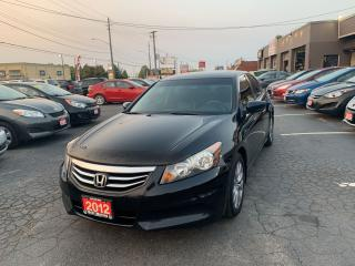 Used 2012 Honda Accord EX-L W/NAVI for sale in Hamilton, ON