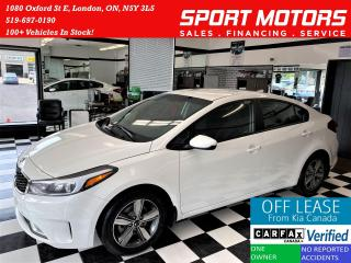 Used 2018 Kia Forte LX+Apple Play+New Tires & Brakes+ACCIDENT FREE for sale in London, ON