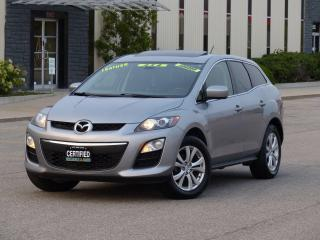 Used 2012 Mazda CX-7 AWD,LEATHER,SUNROOF,LOADED,CERTIFIED,EXTRA TIRES for sale in Mississauga, ON