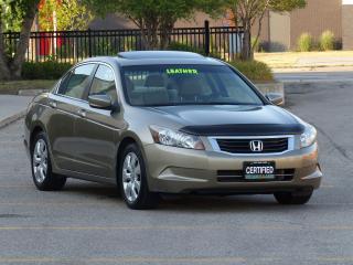 Used 2010 Honda Accord LEATHER,EX-L,BACKUP SENSORS,LOADED,DEALER SERVICED for sale in Mississauga, ON