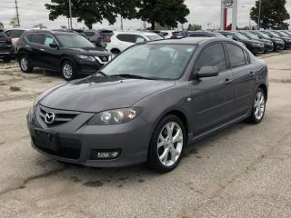 Used 2008 Mazda MAZDA3 SPORT,GT,SUNROOF,HEATED SEAT,FULL LOADED,CERTIFIED for sale in Mississauga, ON