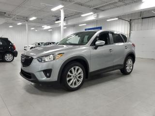 Used 2015 Mazda CX-5 GT - CAMERA + TOIT + CUIR + SIEGES CHAUFFANTS !!! for sale in Saint-Eustache, QC