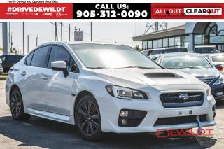 Used 2015 Subaru WRX SPORT PKG | HEATED SEATS | AWD | SUNROOF | for sale in Hamilton, ON