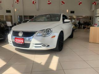 Used 2009 Volkswagen Eos Silver-Red Ed. 6sp DSG Tip for sale in Waterloo, ON