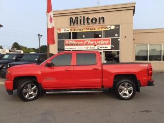 Used 2016 Chevrolet Silverado 1500 LT CREW 4X4 Z71|CHROME SIDE STEPS|TONNEAU COVER|TR for sale in Milton, ON