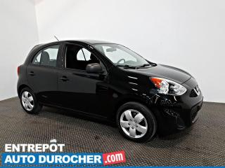 Used 2015 Nissan Micra S AIR CLIMATISÉ - Prise Aux for sale in Laval, QC