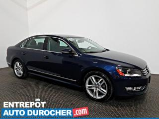 Used 2015 Volkswagen Passat Trendline TDI AIR CLIMATISÉ - Sièges Chauffants for sale in Laval, QC