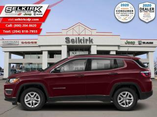 New 2021 Jeep Compass 80th Anniversary - Navigation for sale in Selkirk, MB