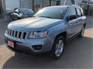 Used 2013 Jeep Compass North 4x4 Auto w/Heated Seats, Remote Start, Bluet for sale in Hamilton, ON