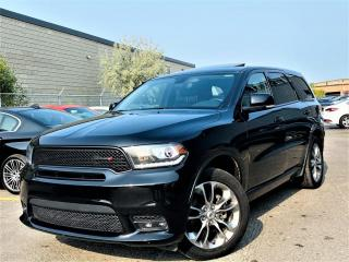 Used 2019 Dodge Durango GT|7 PASSENGER|AWD|SUNROOF|MEMORY SEATS|NAVIGATION! for sale in Brampton, ON