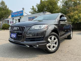 Used 2012 Audi Q7 quattro 4dr 3.0L Premium AMAZING CONDITION *7 seats for sale in Brampton, ON