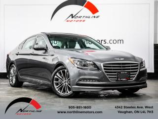 Used 2015 Hyundai Genesis Sedan HTrac 3.8|Navigation|Pano Roof|Blindspot|Camera for sale in Vaughan, ON
